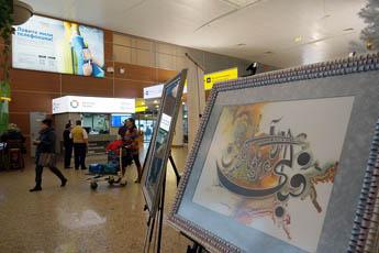 Современный музей каллиграфии принял участие в «Дне пассажира» в Шереметьево