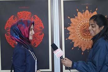 Работы каллиграфа из Татарстана Гульназ Исмагиловой представили Россию в Индии