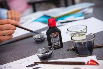 Национальная Школа искусства красивого письма приглашает на курсы по каллиграфии