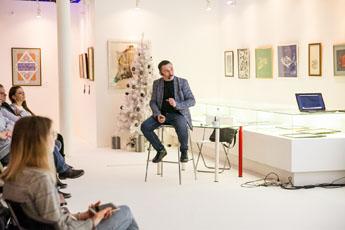 В музее каллиграфии состоялась лекция об истории трансформации кириллицы