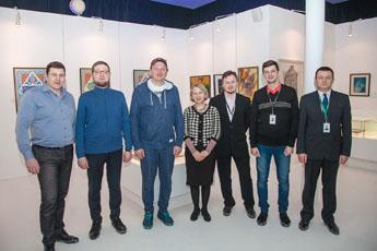 Марат Башаров в гостях у Современного музея каллиграфии
