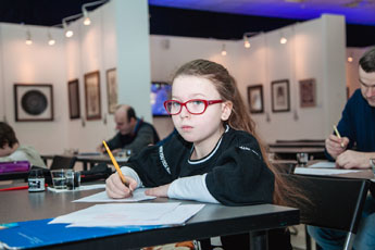 Открытый урок по каллиграфии объединил людей всех возрастов