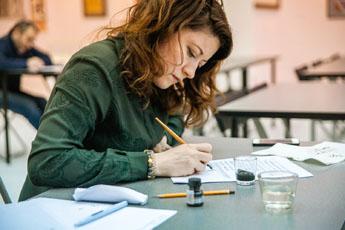 27 и 28 марта в Современном музее каллиграфии прошел  двухдневный  интенсив