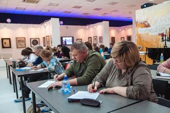 В Современном музее каллиграфии прошел тотальный диктант