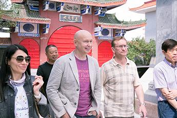 Делегация Современного музея каллиграфии посетила китайский Музей каллиграфии на камне