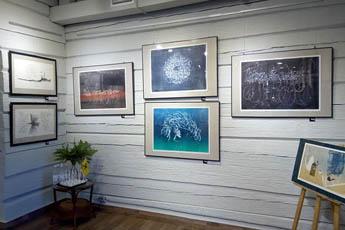Персональная выставка Андрея Машанова «Каллиграфия. Образ и слово»