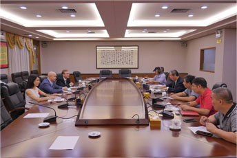 В начале сентября состоялась очередная поездка команды музея в Китай