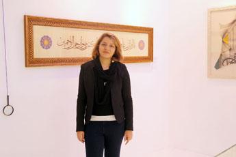 Современный музей каллиграфии посетила гостья из Ирана