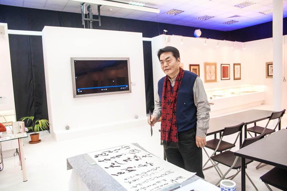 Музей мировой каллиграфии поздравляет господина Се Аньцзюня с Днем рождения