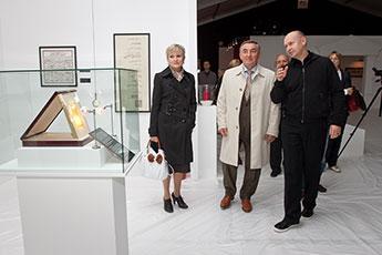 Директор Современного музея каллиграфии встретился с мэром Великого Новгорода