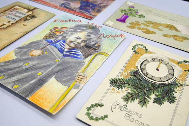 Exhibition of vintage handwritten New Year cards to open at Contemporary Museum of Calligraphy on December 28, 2018