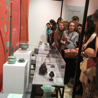 "Tea, music, poems and wine – an exhibition ""Aesthetics of oriental life"""