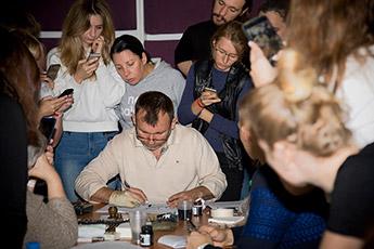 Calligrapher magazine visited Alexander Boyarsky