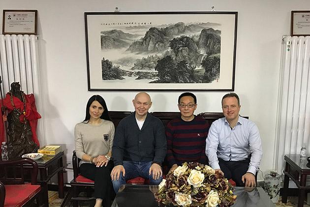Renowned Chinese artist Zhang Shisen dedicated New Year greeting card to Vladimir Putin