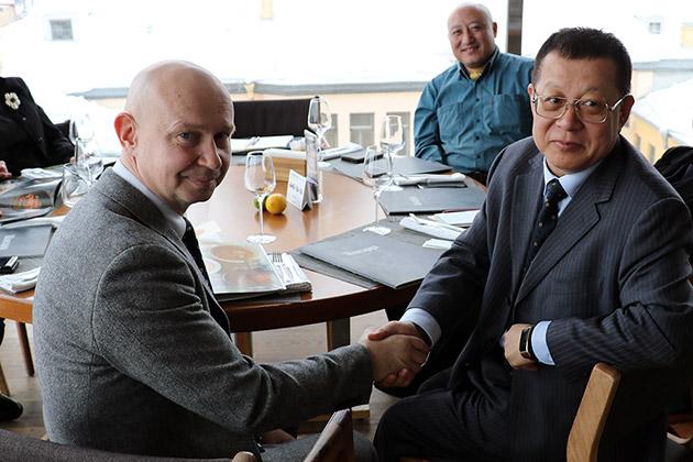 Алексей Шабуров встретился с председателем китайской юридической компании DHH