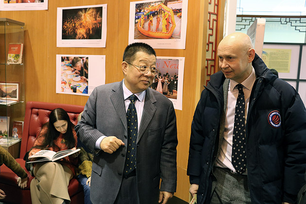 Alexey Shaburov met with Chairman of legal company DHH, China