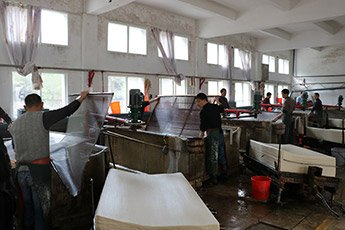 Visiting Rice Paper Factory