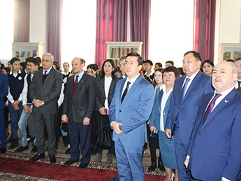 The Art of Islamic Calligraphy exhibition opened in Astana