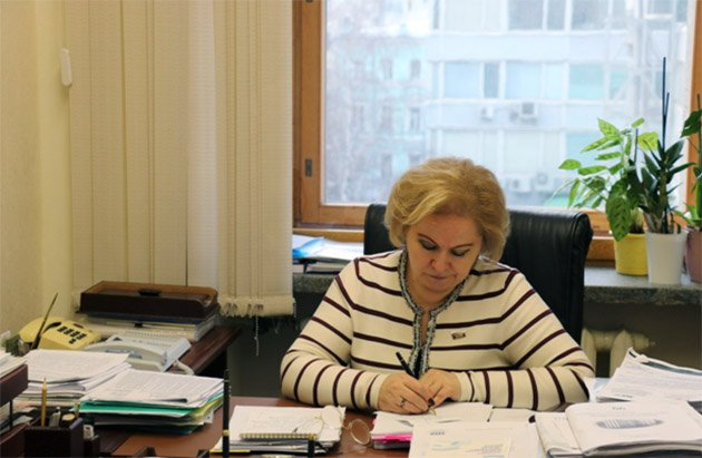 Museum team meets with Lyubov Dukhanina in State Duma