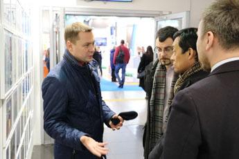 КВЦ «Сокольники» посетил глава регионального представительства авиакомпании China Sоuthern Airlines в РФ