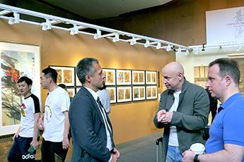 В ходе деловой поездки по КНР делегация Современного музея каллиграфии посетила город Гонконг