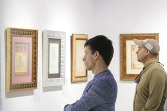 Музей Старинных инструментов в гостях у Современного музея каллиграфии