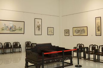 Director of Contemporary Museum of Calligraphy visited East Museum in China
