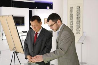 Председатель китайской юридической компании DHH Луань Шаоху посетил КВЦ «Сокольники»