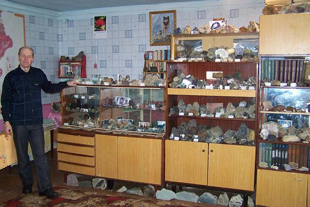 Частный музей «Радуга самоцветов», Бурятия