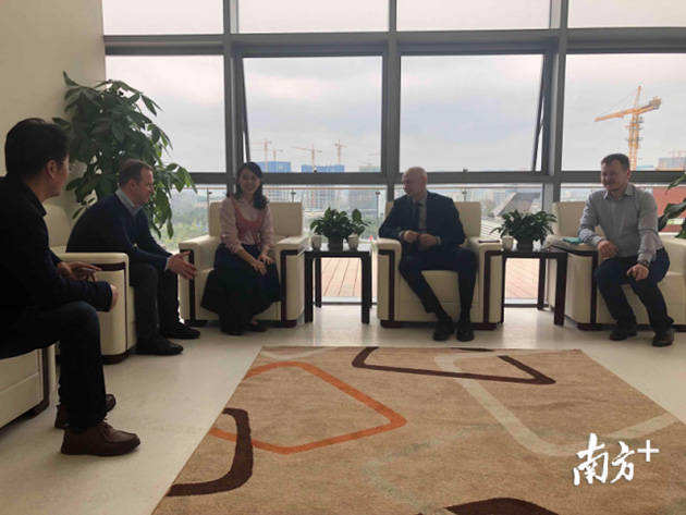 Director of Russian Contemporary Museum of Calligraphy paid a special visit to Pingshan Museum of Art