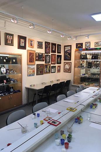 Экспедиция посетила музей «Эмалис»