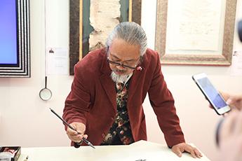 Известный китайский журналист Ван Яфен (Хэйнцзы) посетил МПК «Сокольники»
