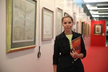 Подошел к концу второй день проведения выставки «Великой русской и китайской каллиграфии»