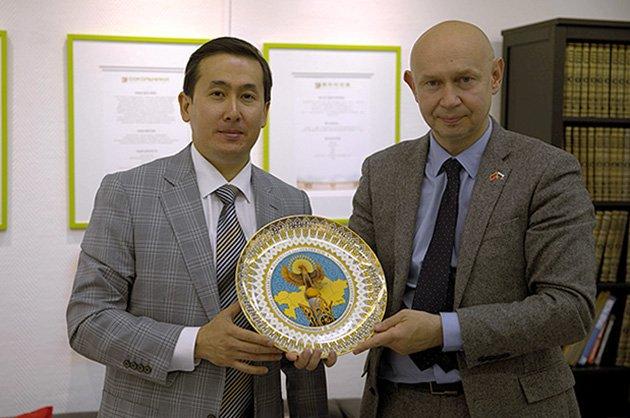 Director of the National Centre for Manuscripts and Rare Books visited Sokolniki Exhibition and Convention Centre