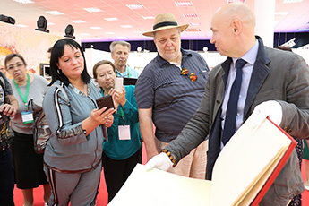 Employees of private museums visited the Contemporary Museum of Calligraphy