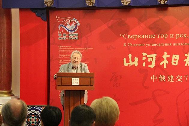 Вице-президент Российской Академии художеств Андрей Андреевич Золотов