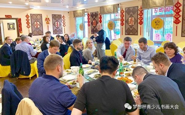 5月27日晚华奎先生在答谢宴会上致词