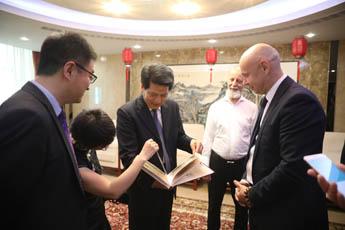 《山河相辉,友谊长存》展览在莫斯科中国文化中心开幕