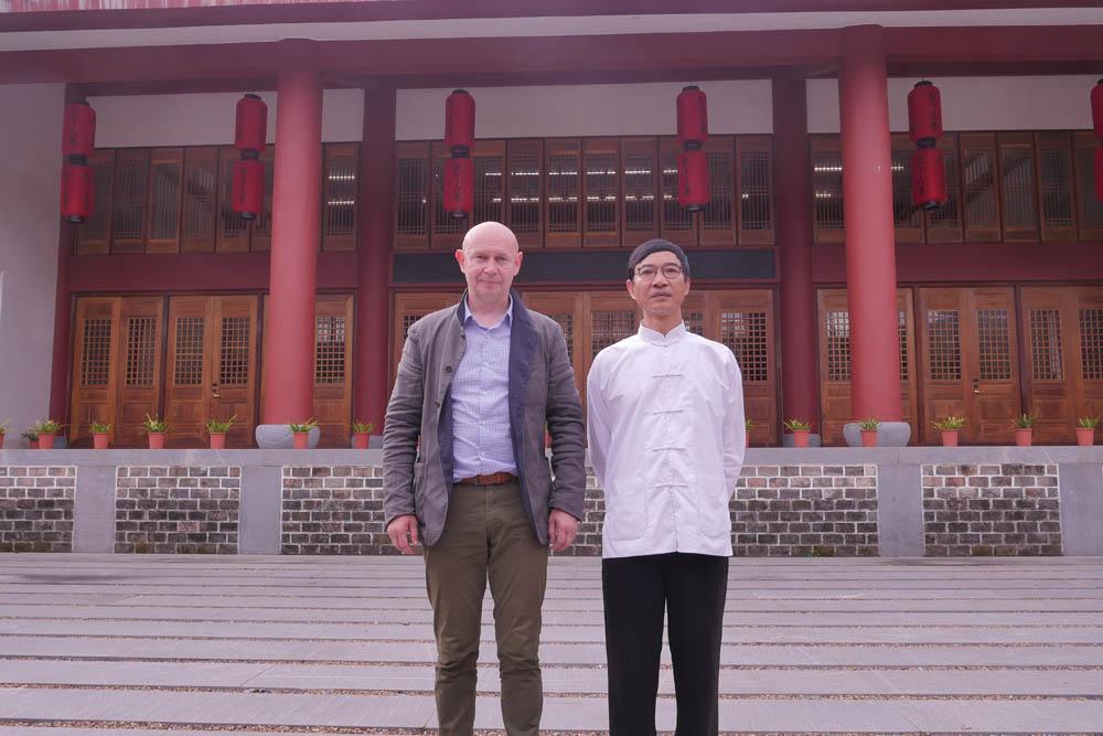 2019年7月10日,当代书法馆参观了一个独特的地方, 就是中国民间乐器古琴的制作工厂。