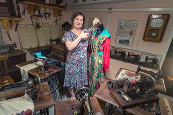 Музей старинных швейных машин в Переславле-Залесском — следующая точка маршрута экспедиции по частным музеям