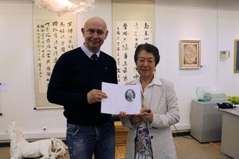 Meeting of Alexey Shaburov and Li Innan