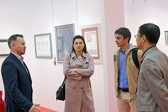 Leaders of Moscow Federation of Go visited the Sokolniki Exhibition and Convention Center  and the Contemporary Museum of Calligraphy