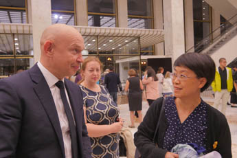 Director of the Contemporary museum of calligraphy visited the premiere of the Chinese ballet Meeting with the Great River