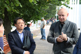 Delegation from the Chinese city Harbin visited Sokolniki Convention and Exhibition Centre