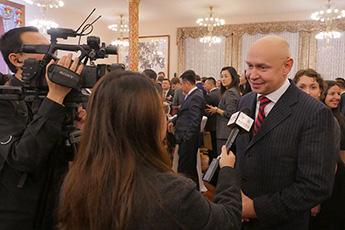 Торжественный прием в посольстве КНР по случаю 70-летия образования Китайской Народной Республики