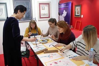 Институт Конфуция РГГУ провел в Современном музее каллиграфии праздничное мероприятие