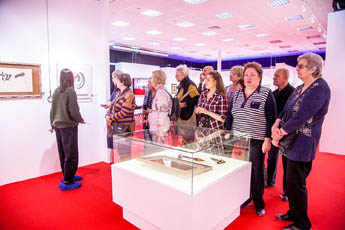 В Современном музее каллиграфии прошла благотворительная экскурсия