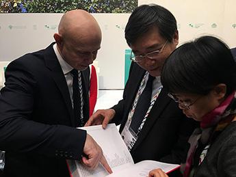 Встреча Алексея Шабурова и замминистра культуры и туризма КНР Чжан Сюя