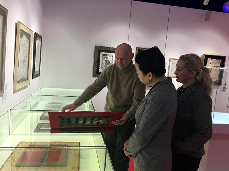 Президент Русско-китайского фонда развития культуры, образования и науки г-жа Цуй Шань посетила КВЦ «Сокольники»