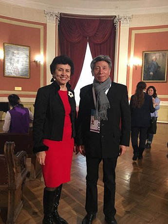 Alexey Shaburov met with Mr.  Fang Di'an